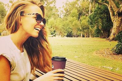 @samantha_jade_music: Coffee in Kings Park. One of the many places in Perth I've enjoyed visiting since I was a child :) #RaisedOnWeetbix