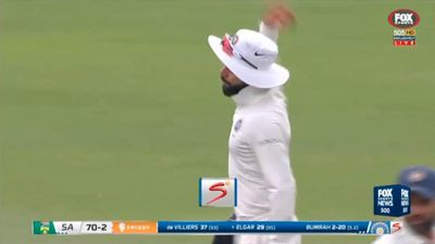 Virat Kohli fined for complaining to umpire, 'aggressive' gesture