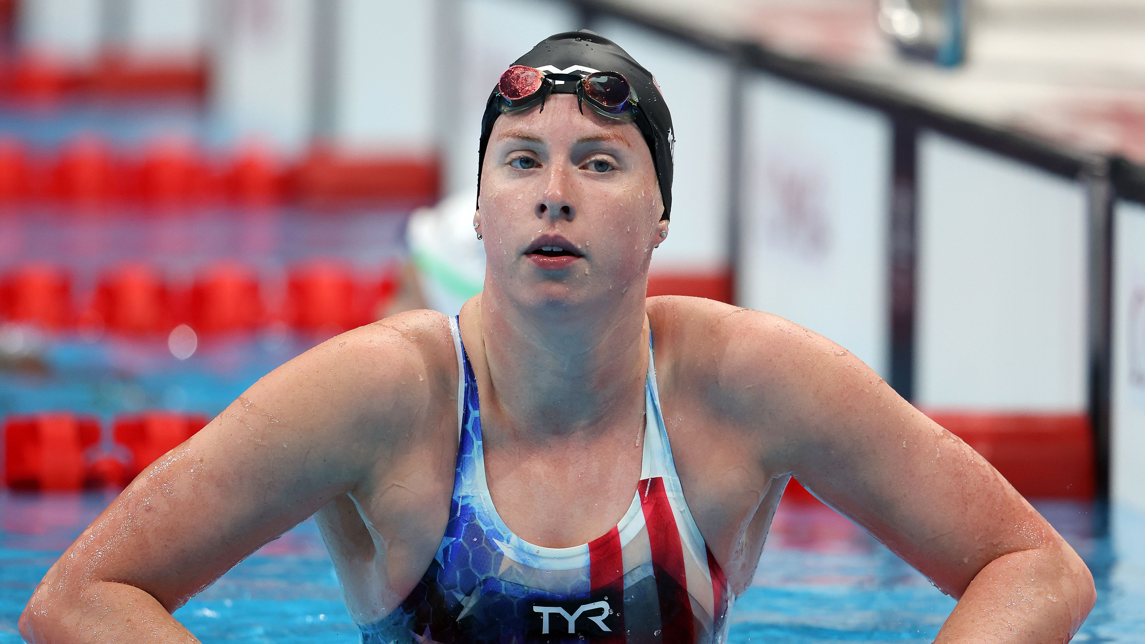 Outspoken US swim star Lilly King upset she feels she can't celebrate winning a silver medal