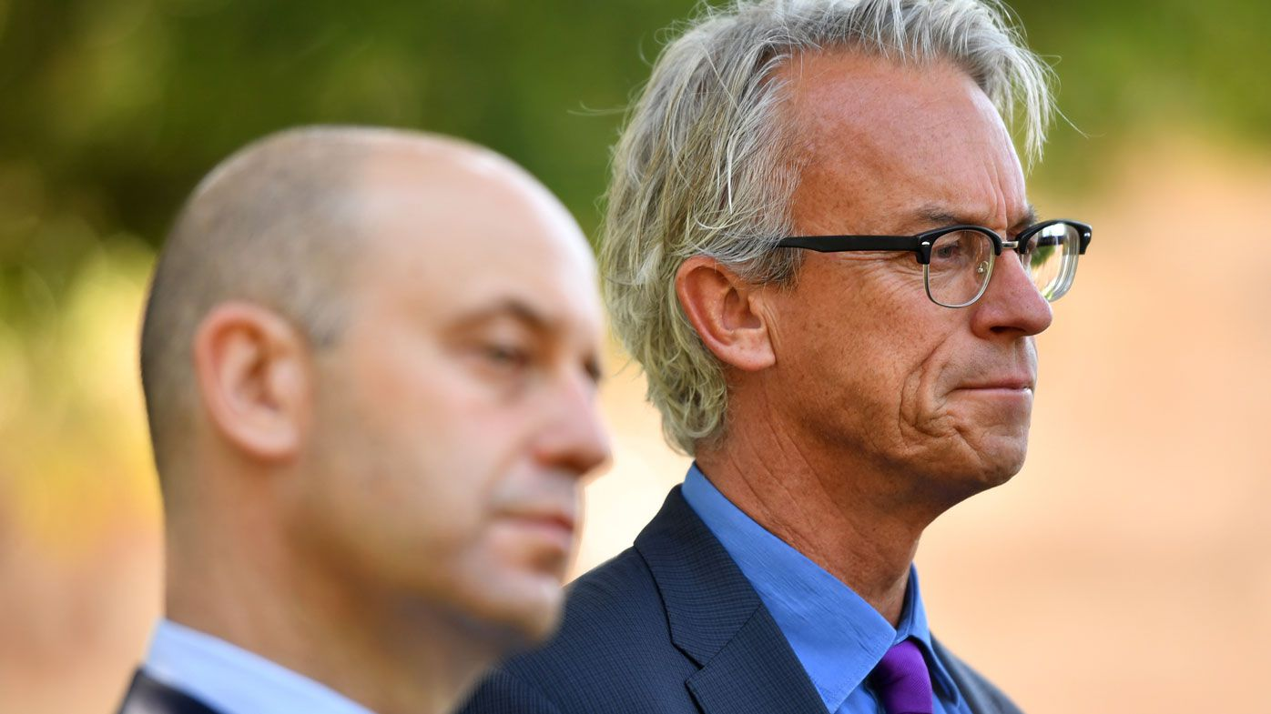 FFA boss David Gallop not up for Cricket Australia role to replace James Sutherland