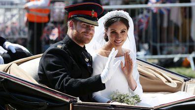 Meghan Harry wedding one year on