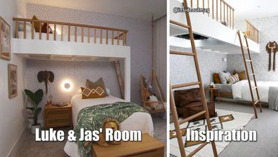 The Block 2020 Luke and Jasmin kids bedroom
