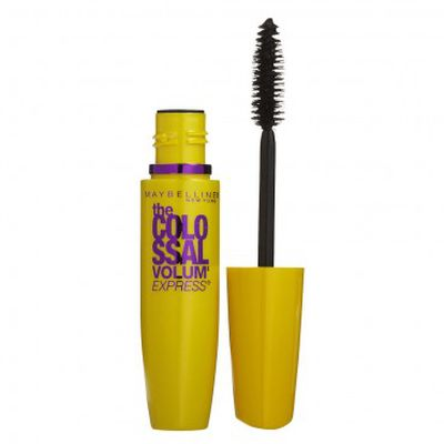 """My go-to mascara is Maybelline colossal."""
