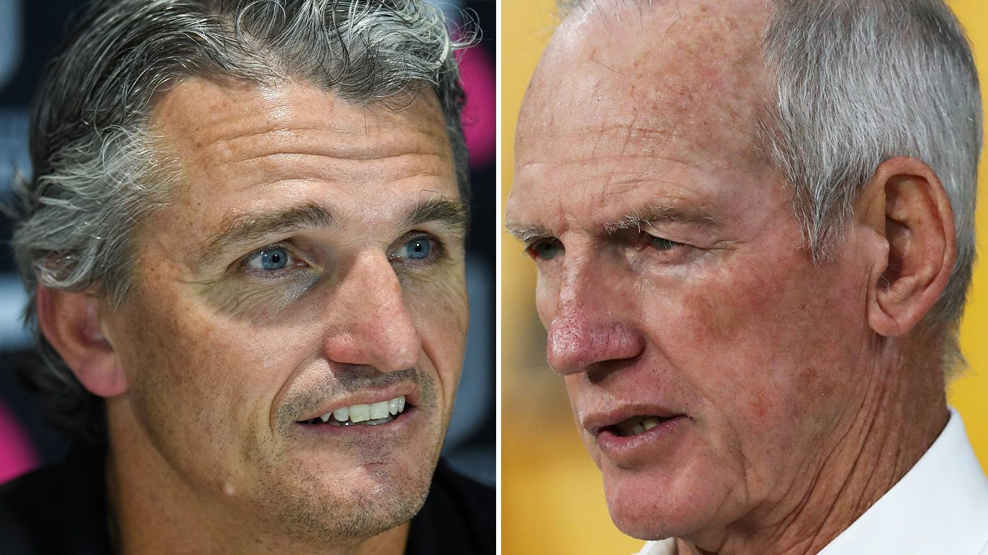 Wayne Bennett, Ivan Cleary resume hostilities following Rabbitohs' tense qualifying final win over Panthers