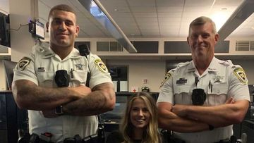 Marcus Applefield, Clara Smith and Matthew Graham represent the spectrum of Hillsborough County Sheriff's Office employees when it comes to height.