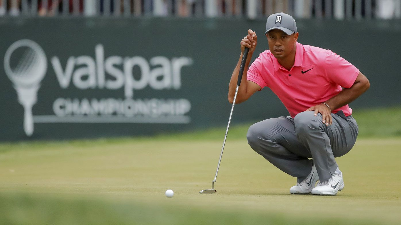 Tiger Woods-mania building with near miss at Valspar Championship in Florida
