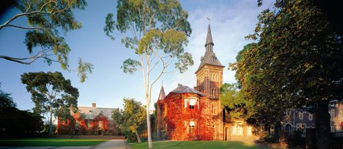 The school is located in Geelong's inner-west. (Geelong College)