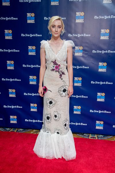 Saoirse Ronan in Rodarte at the 2017 Gotham Awards