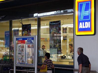 Aldi Melbourne shop front