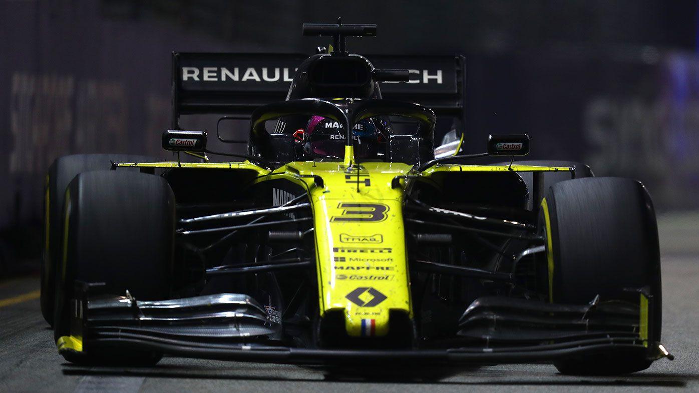 Daniel Ricciardo finished 14th at the Singapore Grand Prix.