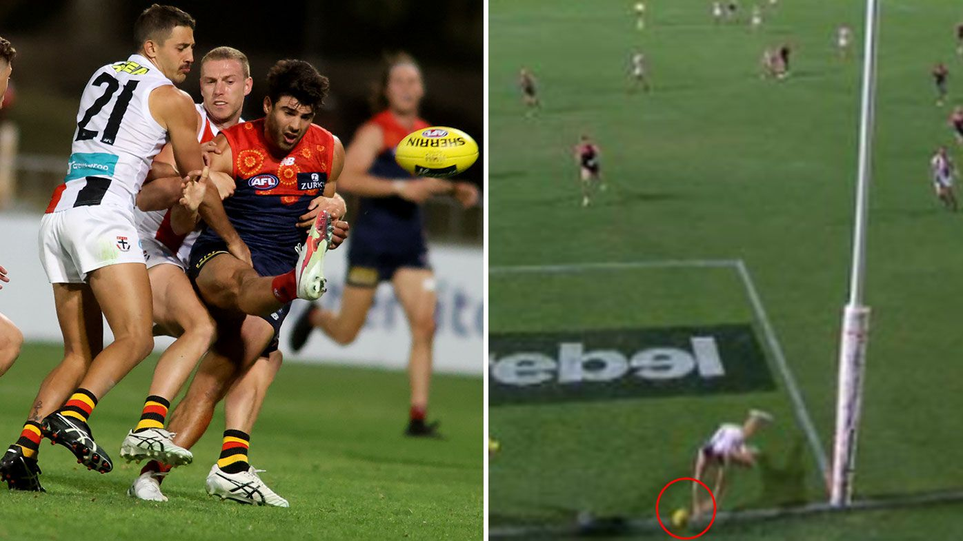 AFL to install goal-line cameras at every venue after Demons-Saints controversy
