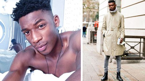 Victim Harry Uzoka (left) and the fellow model who murdered him George Koh. (Photos: Instagram)
