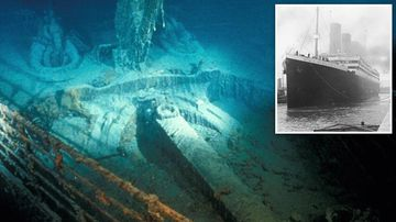 Titanic's discovery was a cover-up for secret US Navy mission