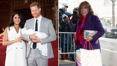 Gayle King royal baby Archie