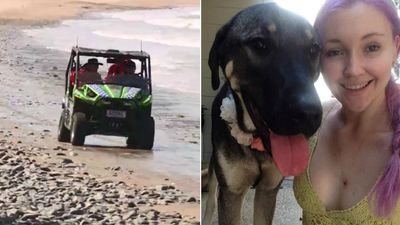Woman 'murdered' walking her dog on Far North Queensland beach