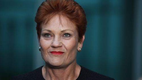 One Nation's Pauline Hanson insists there must be transparency in the pay of senior staff and on-air talent earning more than $200,000 at the ABC and SBS. (AAP)