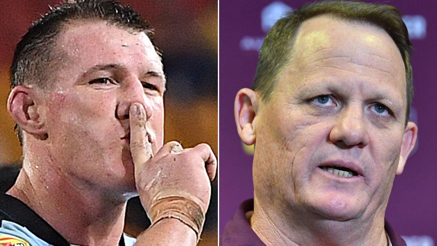 Paul Gallen brands Kevin Walters' behaviour 'weird' after coach whisperer session