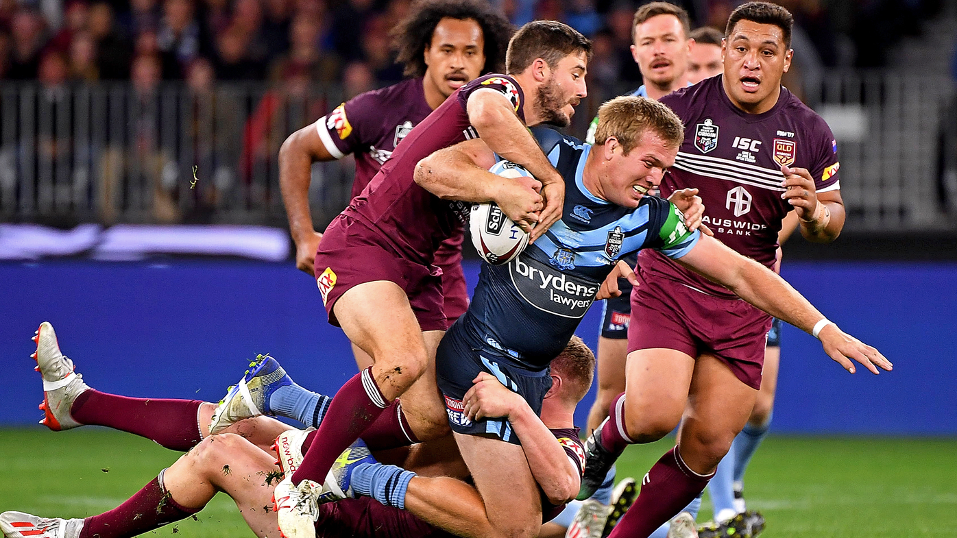 Jake Trbojevic wins man of the match in State of Origin Game 2