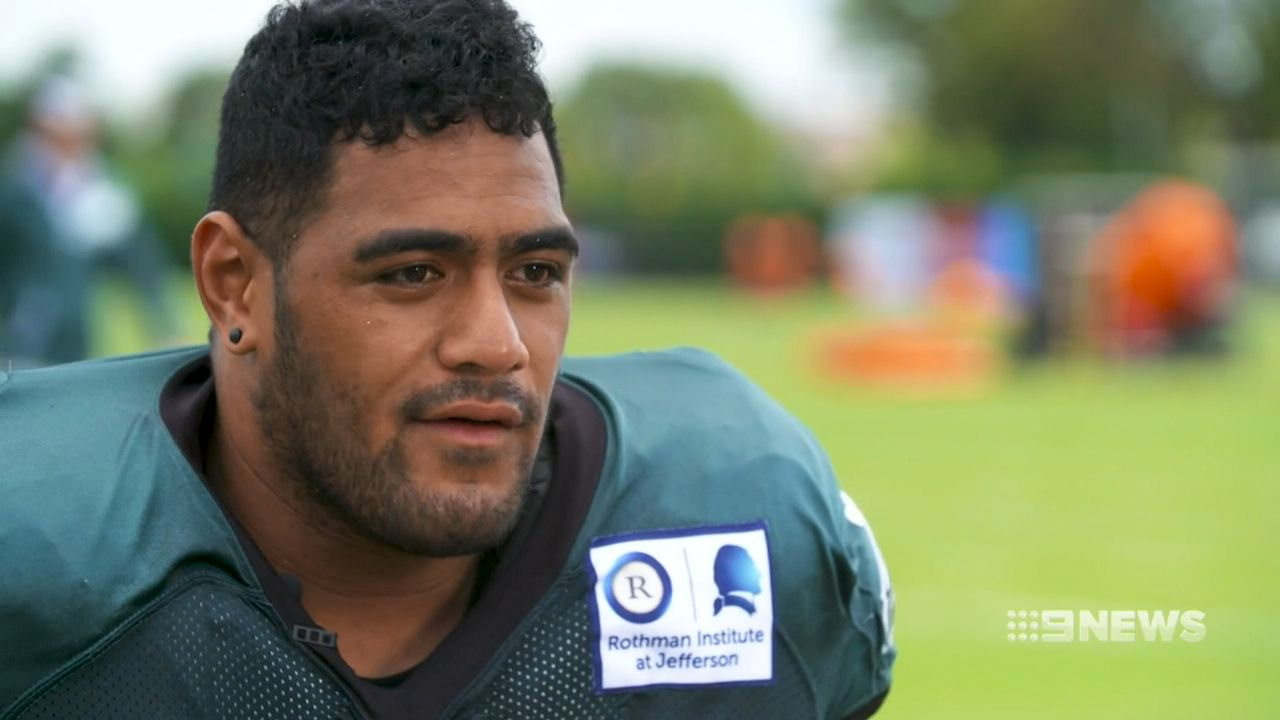 Jordan Mailata wins Eagles starting left tackle job in huge boost for NFL career
