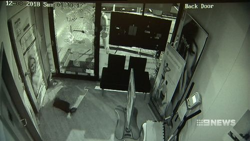 The crimes were the latest in a spate of break-ins in Melbourne's north-east.