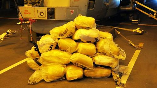 In total, they found 148 bags of hashish, weighing around 3,048kg.