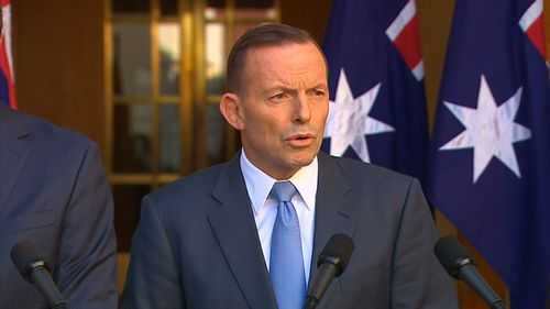Prime Minister Tony Abbott has announced a raft of new counter-terrorism measures. (9NEWS)