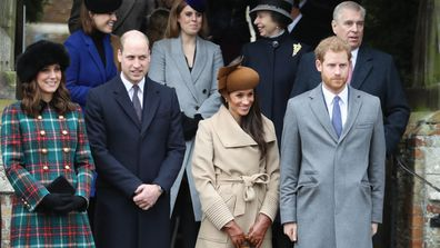 Prince Harry Meghan Markle baby Archie first Christmas with the Queen at Sandringham