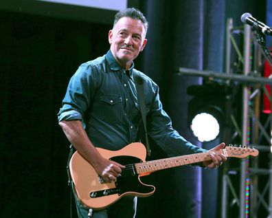Bruce Springsteen performs at Stand Up For Heroes in New York (Photo: Nov. 1, 2016)
