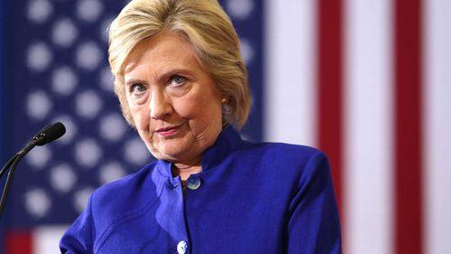 Hillary Clinton at a rally in Orlando, Florida. (AP)