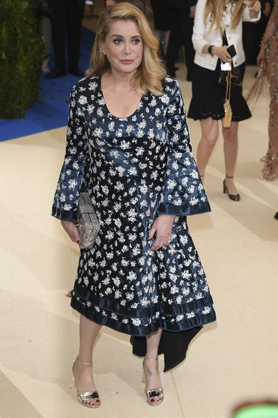 <p>Catherine Deneuve once again proves that the French have a better grip on ageing with the right mix of elegance and eccentricity than any other country.</p>