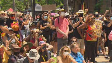 Thousands flock to Brisbane for Australia Day protest