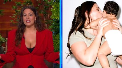 Ashley Graham on being a first-time mother during the pandemic
