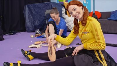 Dana Stephensen and Emma Watkins from The Wiggles