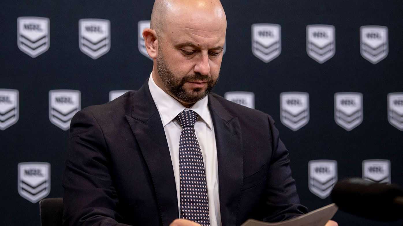 Greenberg not concerned for NRL job