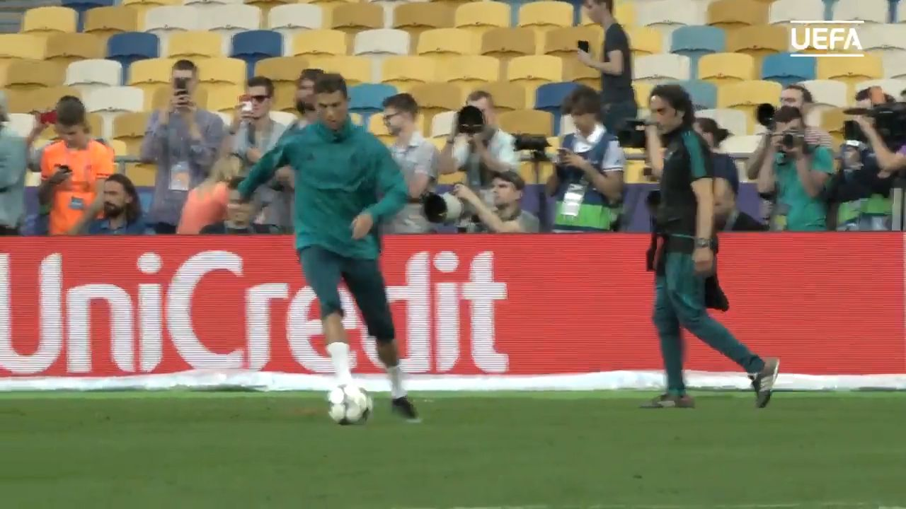 Camerman needs stitches after errant strike from Cristiano Ronaldo
