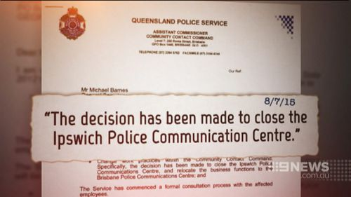 The centre's closure was formally announced five days ago. (9NEWS)