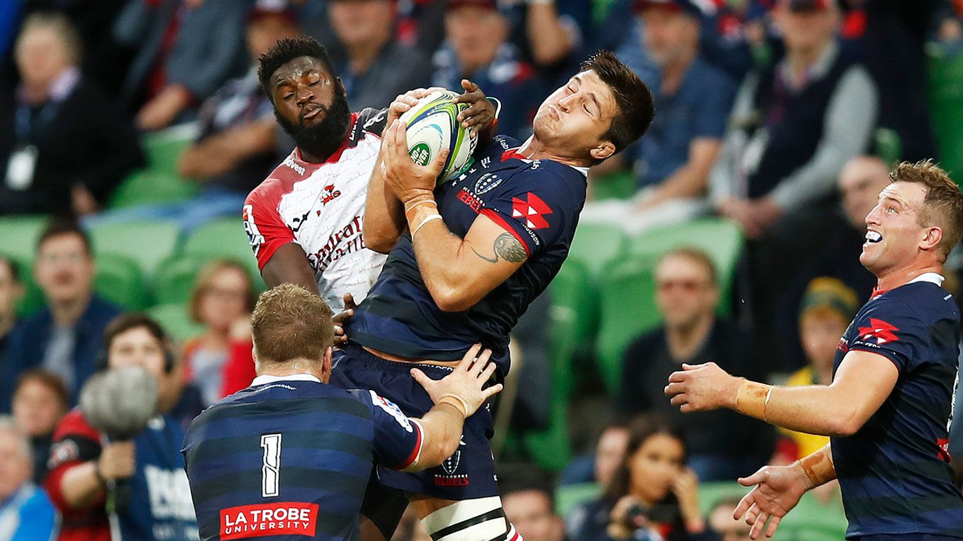A fan who attended the Rebels' clash against the Lions has tested positive for coronavirus. (Getty)