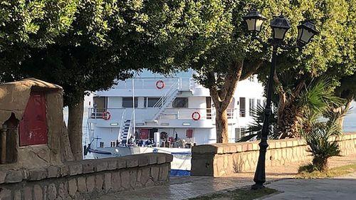 Nile river boat MS River Anuket