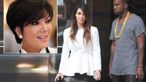 Kris Jenner tells Kanye West: 'Stop talking about Kim's sex tape'