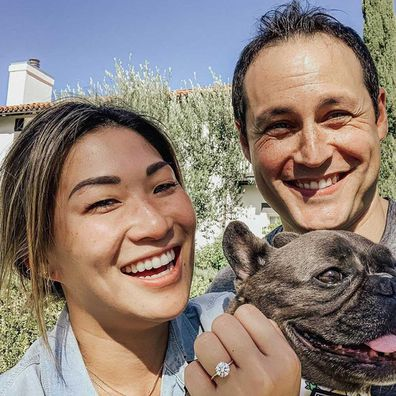 Jenna Ushkowitz is engaged to boyfriend David Stanley.