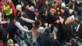 Couple banned from AFL games after 'Adelaide Oval brawl'