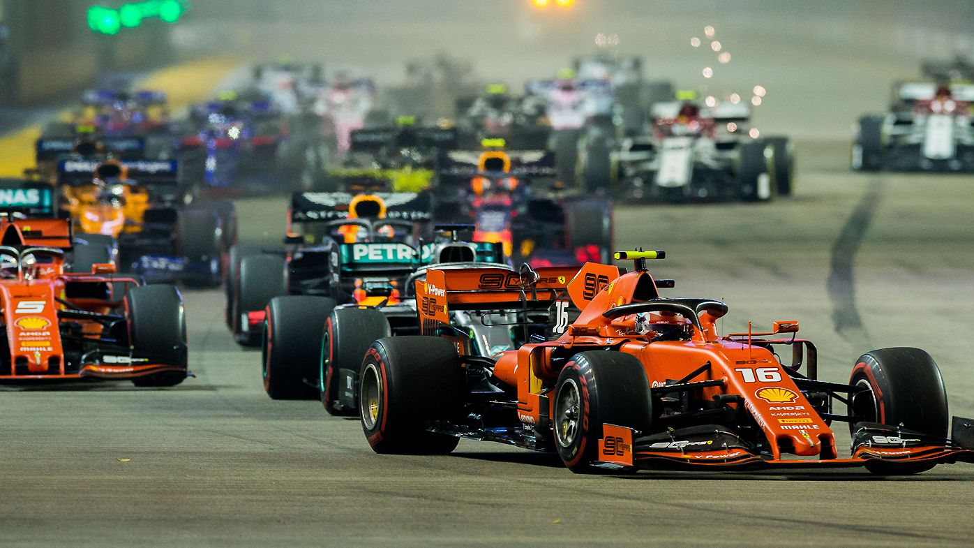 Formula One cancel Singapore Grand Prix for second straight year