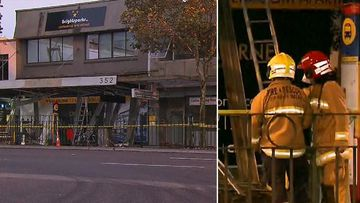 Asbestos emergency shuts down major Sydney road
