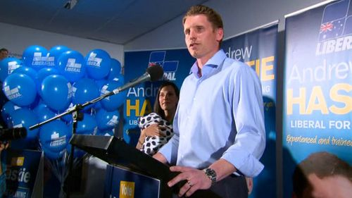 Liberal candidate Andrew Hastie claims Canning by-election win