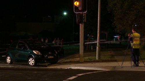 The husband of the woman who died is in hospital suffering shock. (9NEWS)