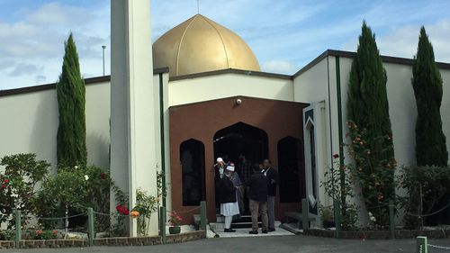 The Al Noor Mosque, where 42 innocent people had been shot dead in New Zealand's worst-ever mass shooting.