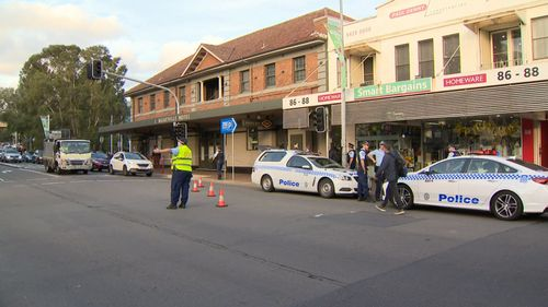 A police operation is currently underway in Sydney's Lower North Shore.