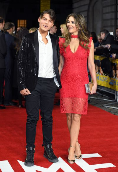 Liz Hurley's son Damian, 14, has inherited his mother's good genes and acting abilities, having made his television acting debut last year in The Royals, alongside mum Liz. Damian's Dad is American multi-millionaire businessman, Steve Bing, who ended his relationship with Hurley soon after she discovered she was pregnant, and questioned her publicly about whether he was the father.