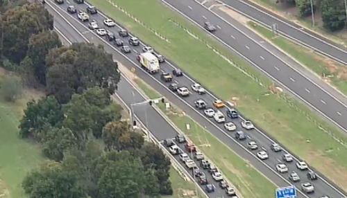 The Monash and Princess outbound are seeing major delays.