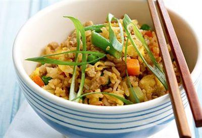 Tuesday: Pork fried rice